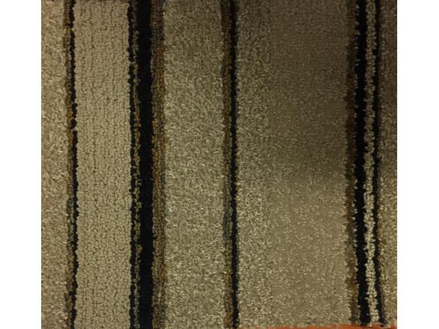 12' x 70' Commercial Carpet Black/Tan