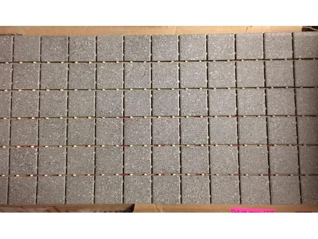 X Dal Tile Suede Grey Speckle Mosaic Tile San Diego South - Daltile maryland